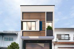 thiết kế nhà đơn giản ấn tượng